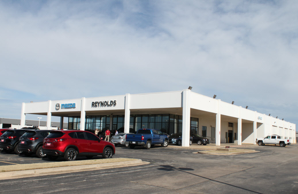 Reynolds Mazda Auto Dealership
